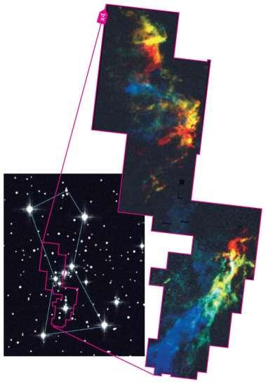 Molecular clouds in Orion Composition: Mostly