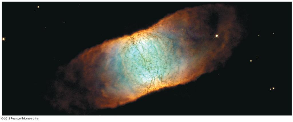Retina Nebula Let s start at the end of a star s lifetime.