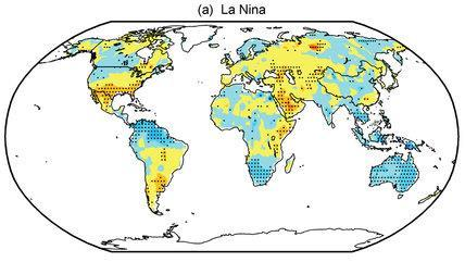 La Niña typically causes drought and