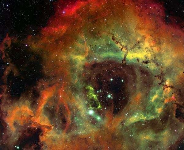 Emission nebulae Emission nebulae emit their own light because luminous ultraviolet stars (spectral type O,B) ionize gas in the nebula.