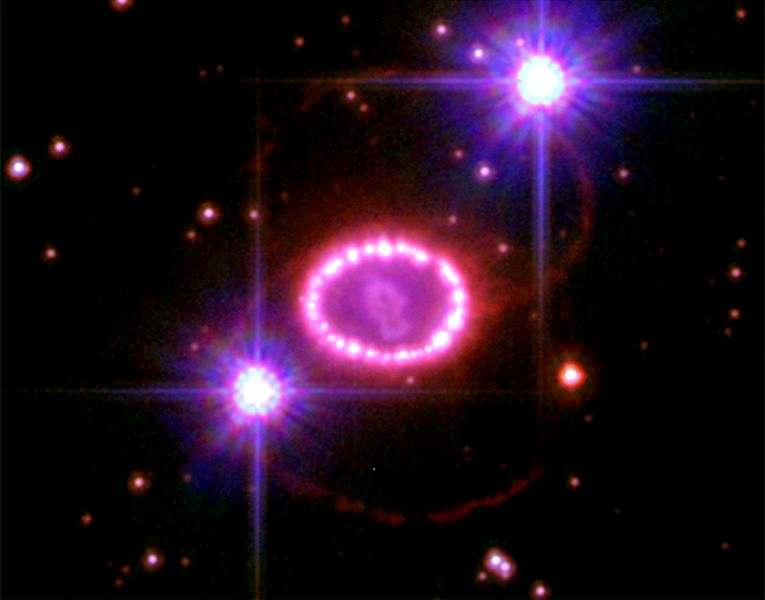 Type 2 supernovae occur when the outward force of fusion no