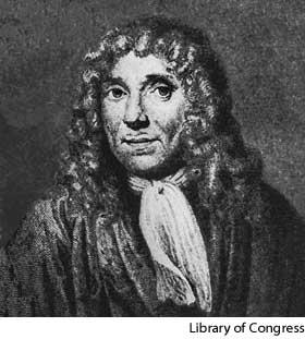 Anton Van Leewenhoek 1632-1723, Dutch