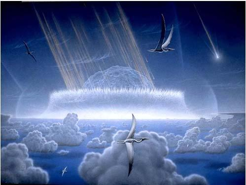 The Impact Hypothesis Impact of 10 km asteroid 65 mya Effects of the Impact the asteroid hit the Earth with a force of