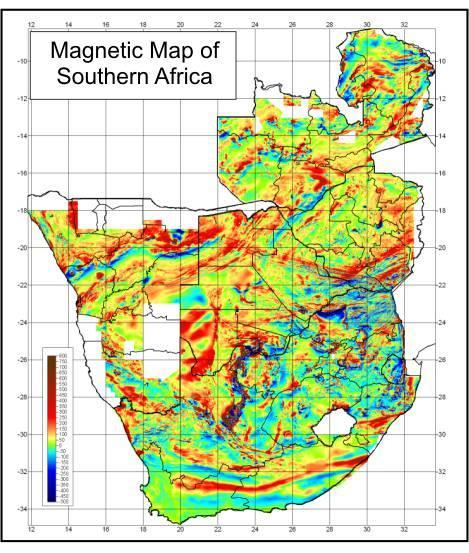 ithemba LABS (Gauteng) 3.6 ithemba LABS (Gauteng) 3.6.1 The Tectonic Framework of Southern Africa as Interpreted from Regional Gravity and Aeromagnetic Data. R. Hart 1, S. Webb 2, M. Doucouré 2, A.