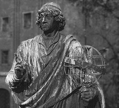 How did Copernicus challenge the Earth-centered idea?