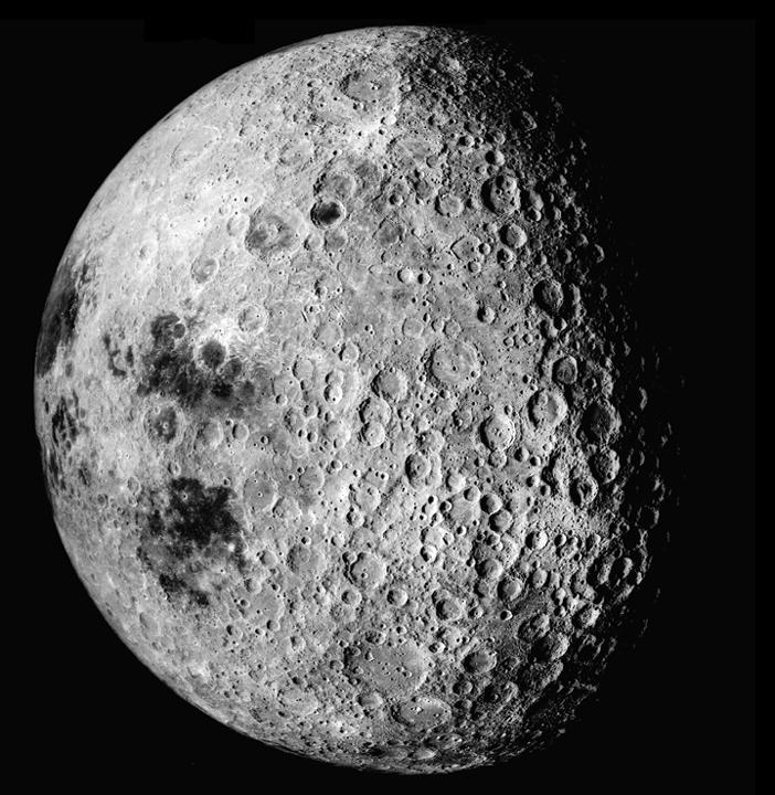 A body with relatively few craters on its surface ->younger surface due to geological