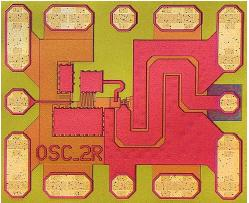 98 GHz VCO in SiGe Bipolar technology Colpitts 0.55 x 0.