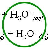 Whenever we place these acids in an aqueous environment (water), the whole thing changes: HI (l) + H 2 O (l) I - (aq) + H 3 O + (aq) HCl (l) + H 2 O (l) Cl - (aq) + H 3 O