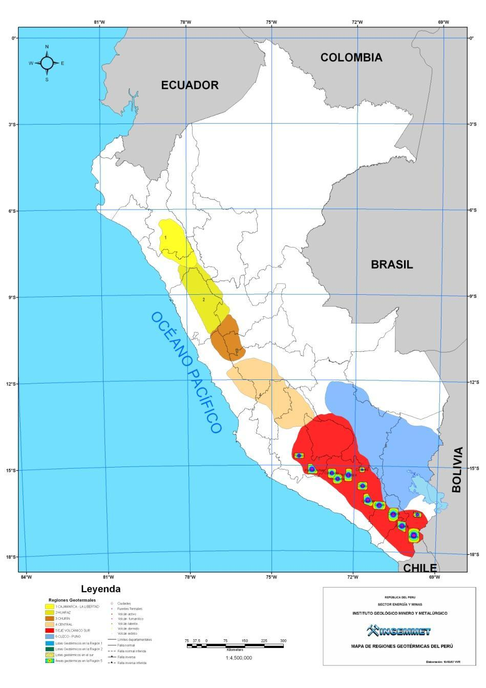GEOTHERMY: An energetic alternative in Peru Objectives: -Update