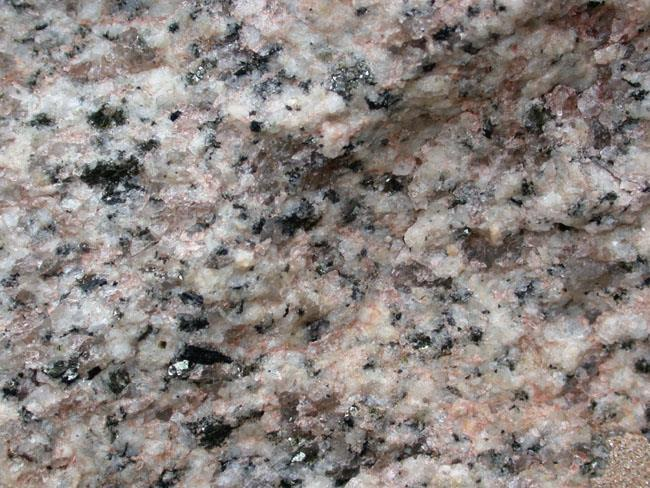 Felsic Light-colored rock such as