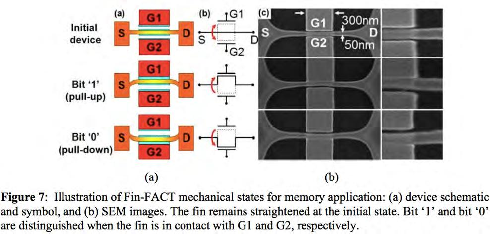 NEMS Memory Devices Ionescu, Adrian M.