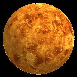 Venus is second from the sun.