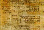 The Rhind/Ahmes Papyrus The Rhind/Ahmes Papyrus contains 85 problems and solutions. Problems 1-3, 8, and 50 of the Rhind/Ahmes Papyrus deal with finding the area of a circle.