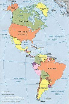The Americas Region 2 Spans both hemispheres, north and south 40 independent countries plus several