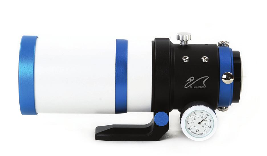 Zenithstar 61 User Manual Telescope Diagram [1] Dust Cover [2] Retractable Dew Shield