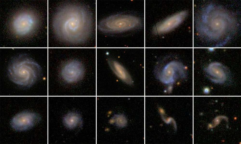 Active Galactic Nuclei for most galaxies the luminosity is dominated by starlight for a few % (higher