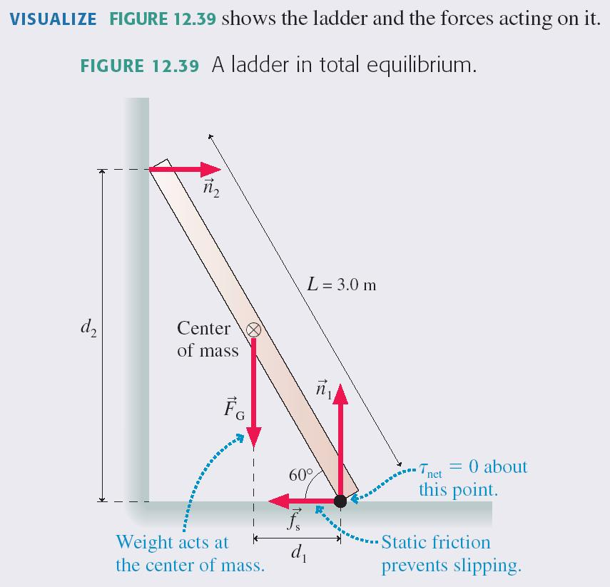 Static Equilibrium Problems In equilibrium, an object has no net force and no net torque.