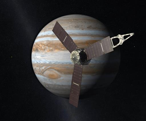 The spacecraft's camera and other instruments were switched off for arrival, so there weren't any pictures at that key moment.