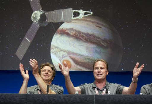 """What Juno's about is looking beneath that surface,"" said Bolton of the Southwest Research Institute in Texas."
