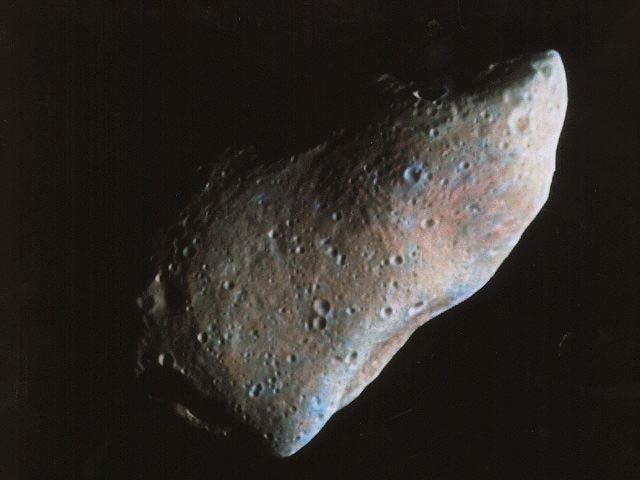 Asteroids resemble a terrestrial planet