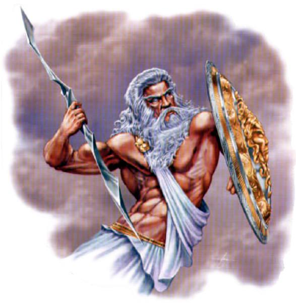 Zeus Ruler of all gods and man.