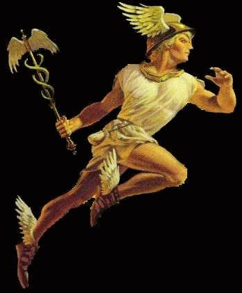 Hermes The god of speed The messenger of the gods Often