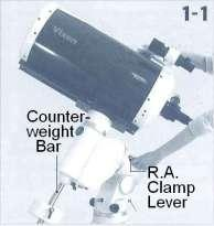 Chapter 1 PREPARATION VI. Balancing the Equatorial Mount Why Balance the Mount?