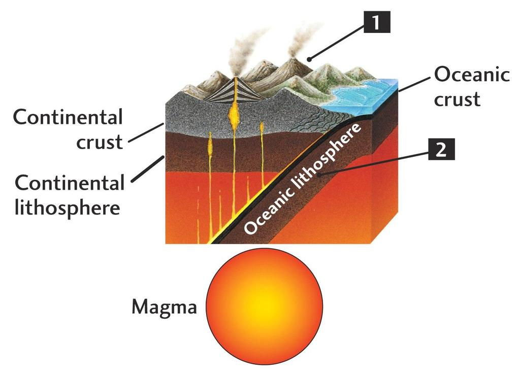 (a) The Rock Cycle Convergent Plate Boundary