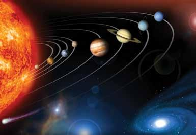 S 4 5 Name: Date: Earth is not the only planet in the solar system that moves. All of the planets do that. The sun s gravity is very strong, so it pulls all of the planets toward it.