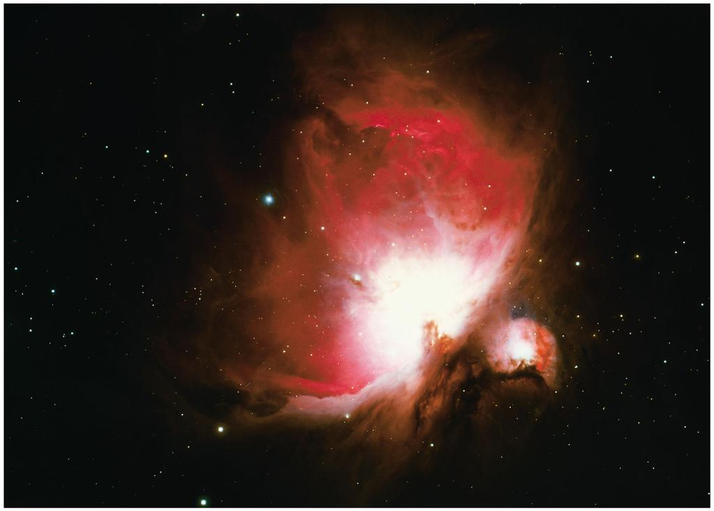 THE ORION NEBULA IS A WELL-