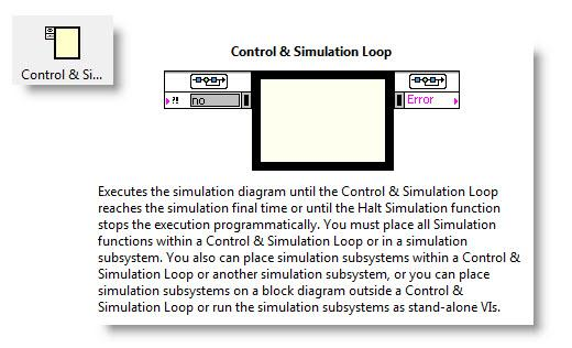 LabVIEW Control and