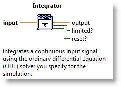 Modeling Simulation Block Diagrams Experimentation Summary The integrator block is a key element for integrating