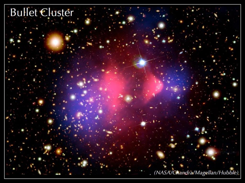 The bullet cluster and similar Hypothesis