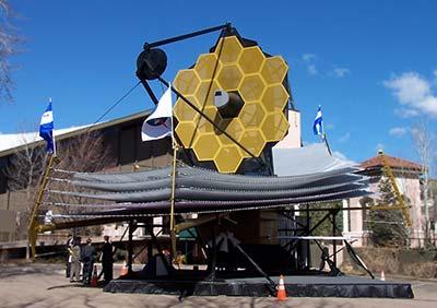Beyond Hubble: The James Webb Space Telescope Set to be