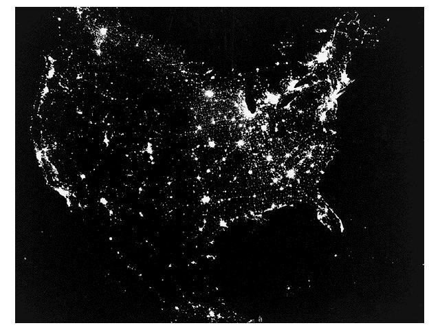 Light Pollution North America at night Light from cities has greatly reduced everyone s ability to enjoy the night sky.