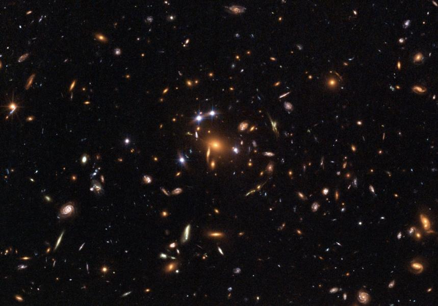Astronomers deal with very large and
