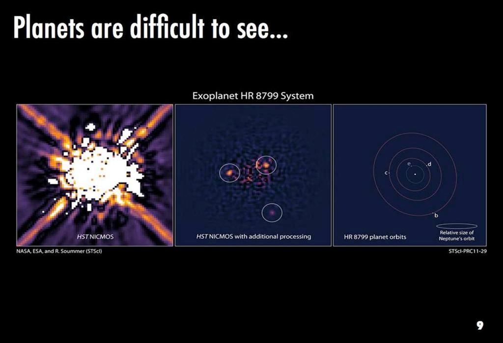 Ideally, we would like to get a snapshot of all extrasolar systems and know them as well as we know our own. But these cases are rare and difficult to achieve.