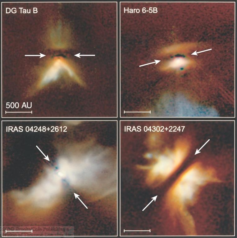 Dust Disks around Forming Stars Dust disks