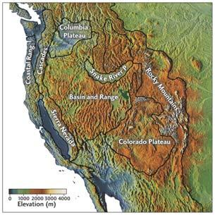 North American Cordillera Complex geologic history from