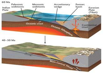 The Himalayan Orogeny: The Indian Plate subducts