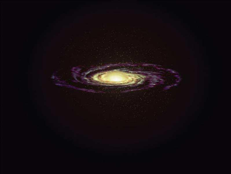 of Galaxy Formation Stars continuously form in disk as galaxy