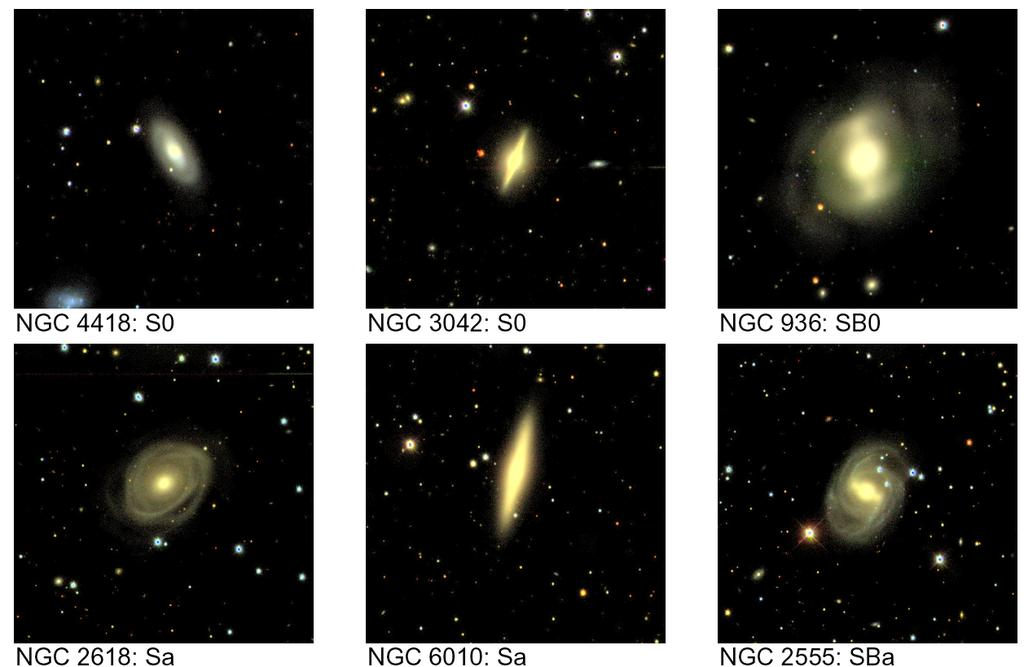 Early-Type Galaxies from the
