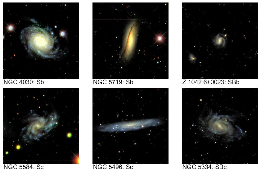 Late-Type Galaxies From