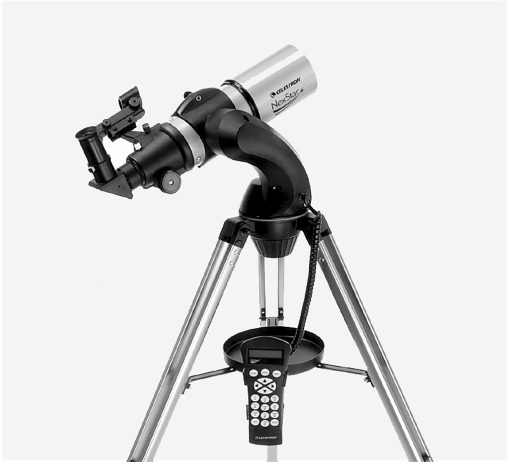 9 10 1 8 2 7 3 6 4 5 The NexStar 80 / 102GT Refractor Telescope 1 Objective Lens 6 Focuser Knob 2 Fork Arm 7 Star