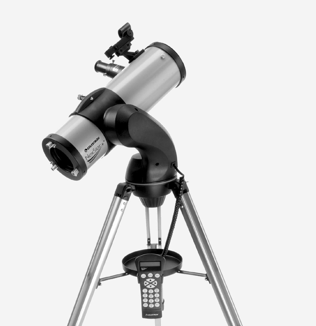 10 1 9 2 8 3 7 4 6 5 NexStar 76 / 114 / 130GT Reflecting Telescope 1 Lens Cover 6 Hand Control 2 Optical Tube 7 Collimation Adjustment