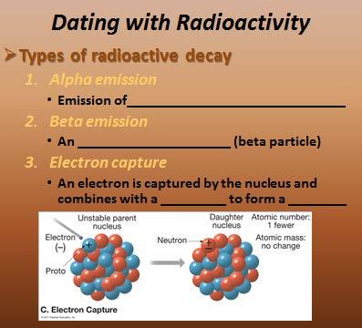 Radioactivity: of atomic nuclei. elements decay to What happens to the atomic number and mass after alpha emission?