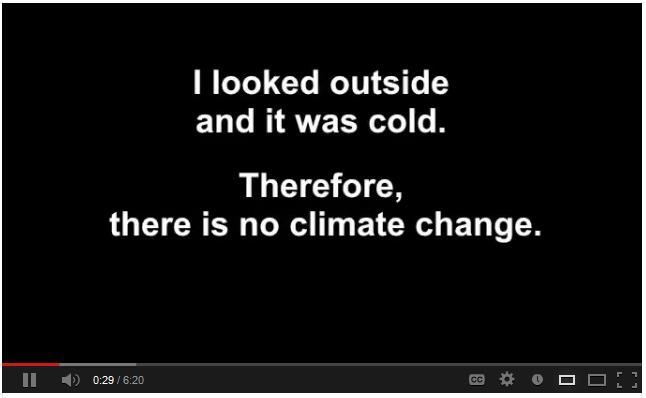 "Video: ""It's cold."