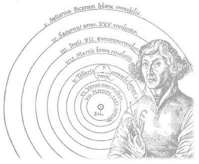Nicolaus Copernicus He believed the Earth, and everything else,