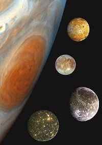 Galileo Galilei He saw the craters of the moon and even discovered Jupiter s four largest