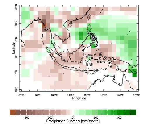 In the coming months, there is a wide spread of climate model outlooks for tropical Pacific Ocean SST, which is consistent with the known lower skill of predictions made at this time of